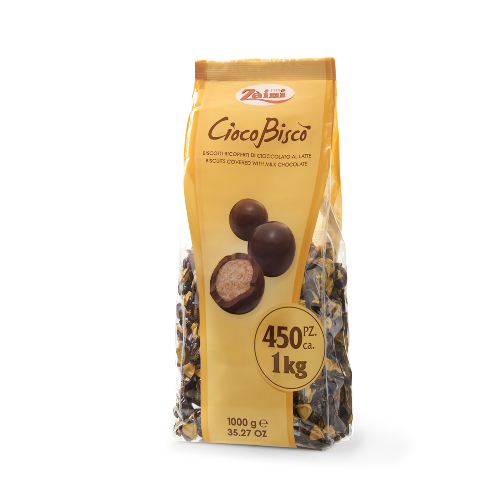Ciocobiscò: Small biscuits covered with milk chocolate 1000g