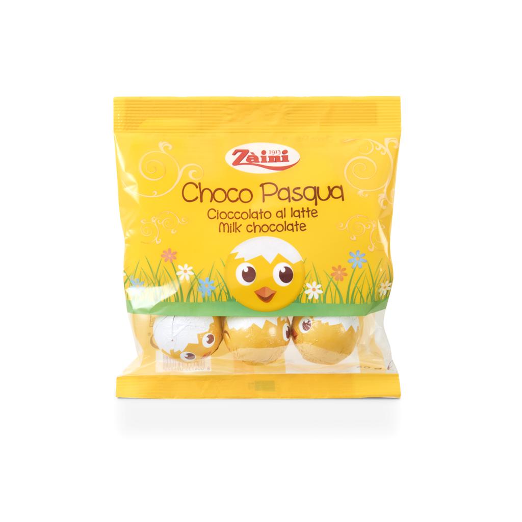 ChocoPasqua: cioccolato al latte 60g