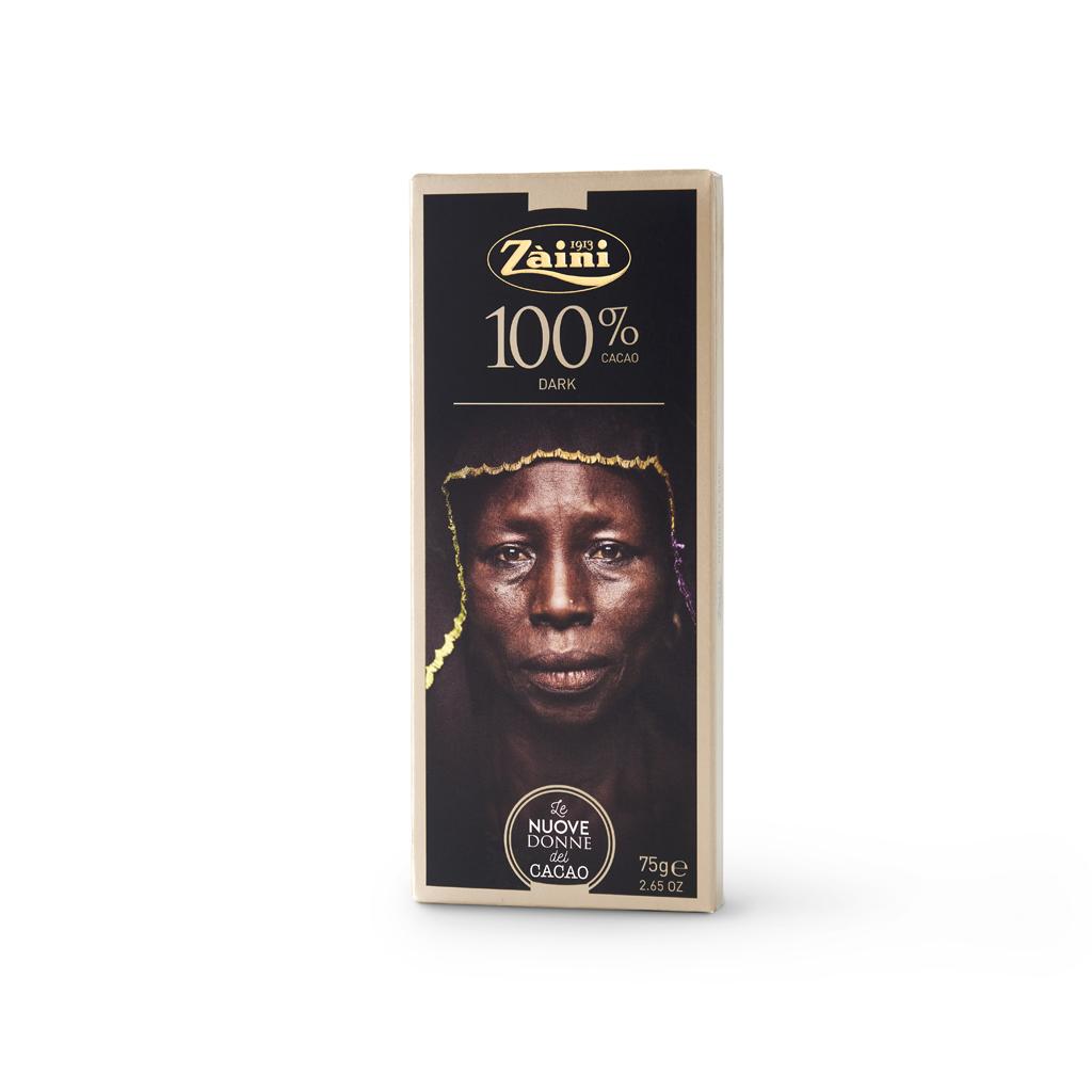 Extra Dark 100% cocoa Bars 75g
