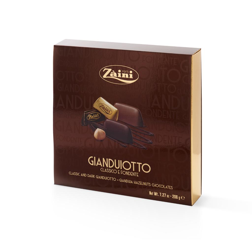 Assorted Gianduiotti gift box 206g