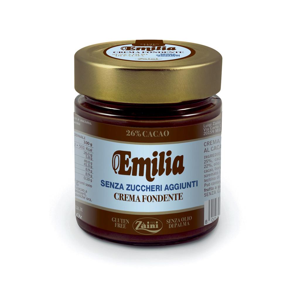 Dark Spreadable cream no added sugar 200g