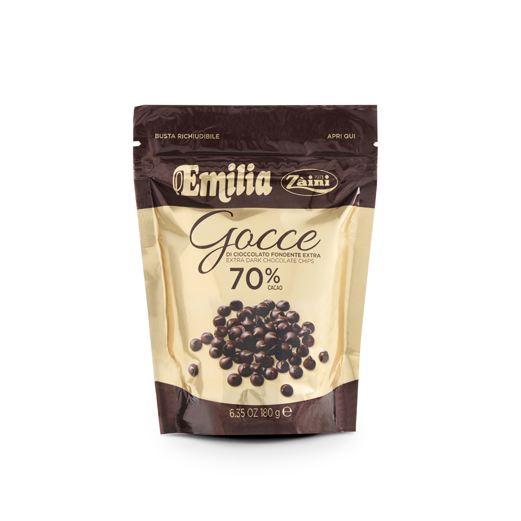 Gocce Cioccolato Fondente Extra 70% 180g
