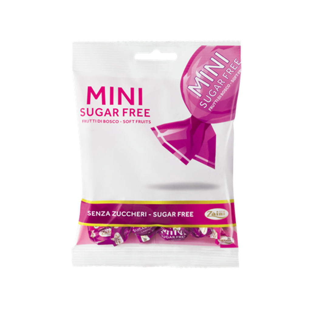 MINI SUGAR FREE FRUTTI DI BOSCO 50G