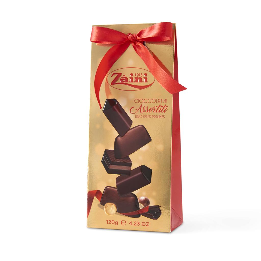 Assorted chocolates pochette 120g
