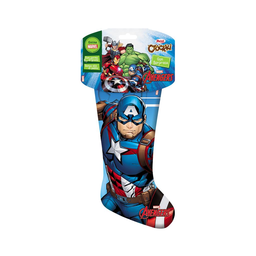 Calza Avengers - Captain America 168g