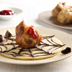 CHOCOLATE AND SULTANA FRITTERS