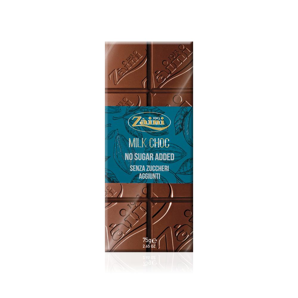 MILK CHOCOLATE NO SUGAR ADDED