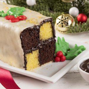 BATTEMBERG CAKE AL CIOCCOLATO
